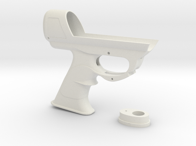 ESB Sidearm Main Body Original in White Natural Versatile Plastic