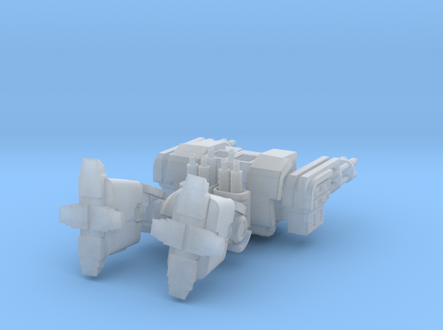 Hellfire Leviathan Dreadnought in Smooth Fine Detail Plastic