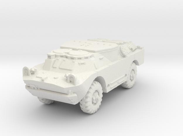BRDM 2 Sagger (closed) scale 1/100 in White Natural Versatile Plastic