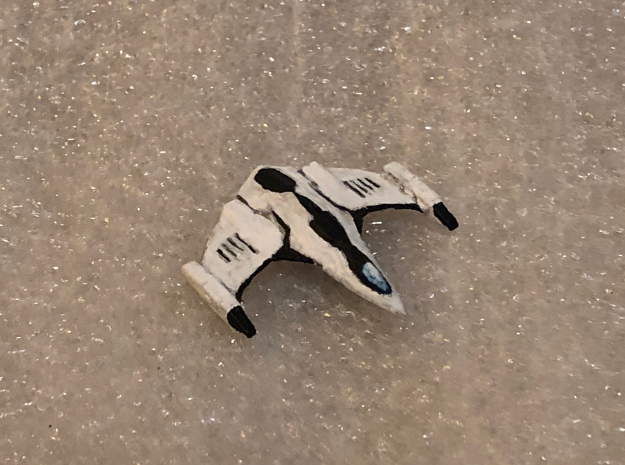 Imperial Eagle: Elite Dangerous in White Natural Versatile Plastic