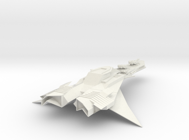 The Hawklight in White Natural Versatile Plastic
