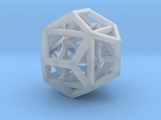 108mm skeletal geometron 1 gmtrx in Smooth Fine Detail Plastic