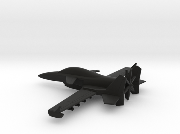 Stavatti SM-27 (w/o landing gears) in Black Natural Versatile Plastic: 1:160 - N