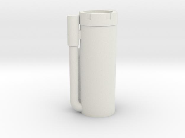 Shock Body Incision Shocks in White Natural Versatile Plastic
