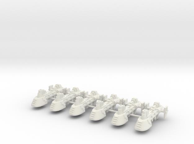 carguero artillado in White Natural Versatile Plastic