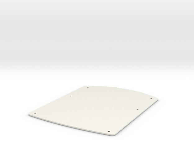 Character Sheet PADD for STA Bottom Section in White Natural Versatile Plastic
