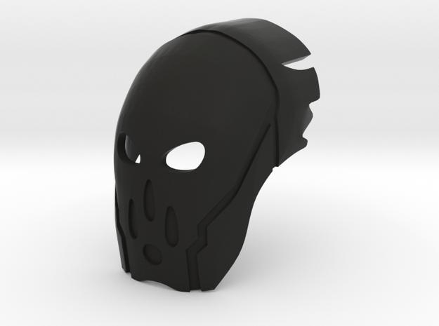 Great Mangai Kanohi Vafaka, Mask of Conjuring in Black Natural Versatile Plastic