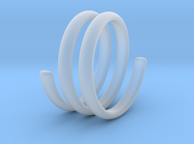 spring ring size 5.5 in Smoothest Fine Detail Plastic