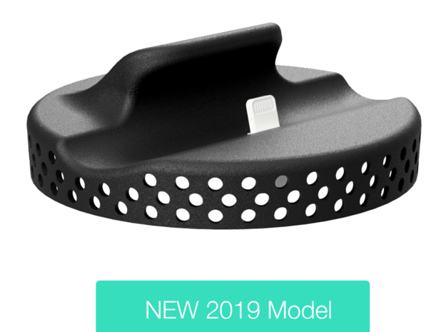 iPhone car mount/holder for BMW I3 in Black Natural Versatile Plastic