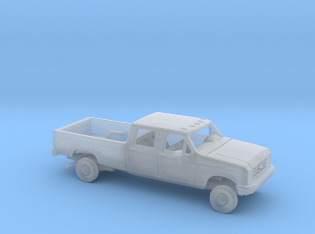 1/87 1987-91 Ford F-Series CrewCab Reg Bed Kit in Smooth Fine Detail Plastic