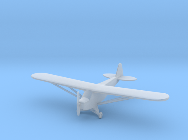 Piper J3 Cub - Nscale in Smooth Fine Detail Plastic