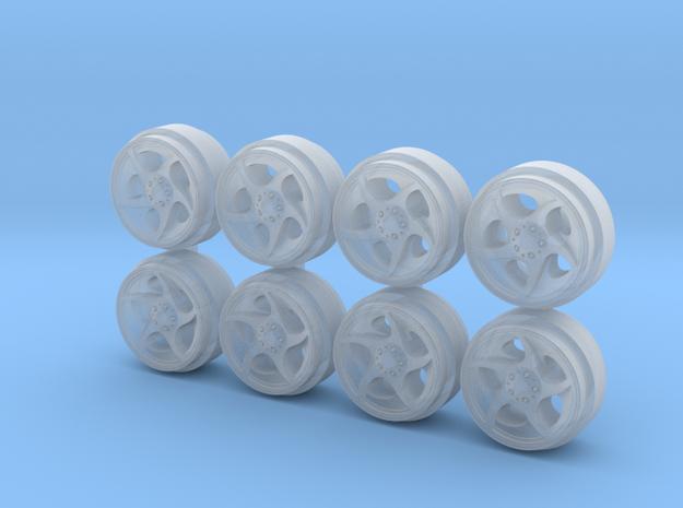 Alphard 9-0 Hot Wheels Rims in Smoothest Fine Detail Plastic