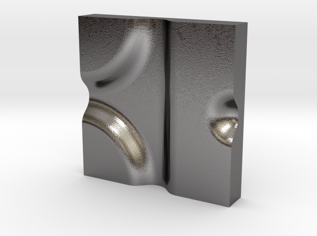 Nile no.4 in Polished Nickel Steel