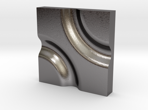 Nile no.5 in Polished Nickel Steel