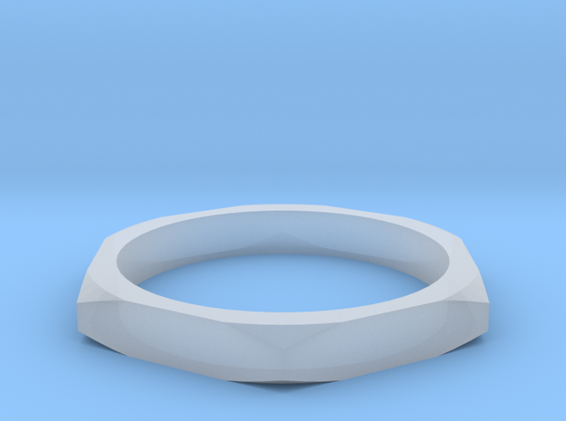 nut ring size 9 in Smoothest Fine Detail Plastic