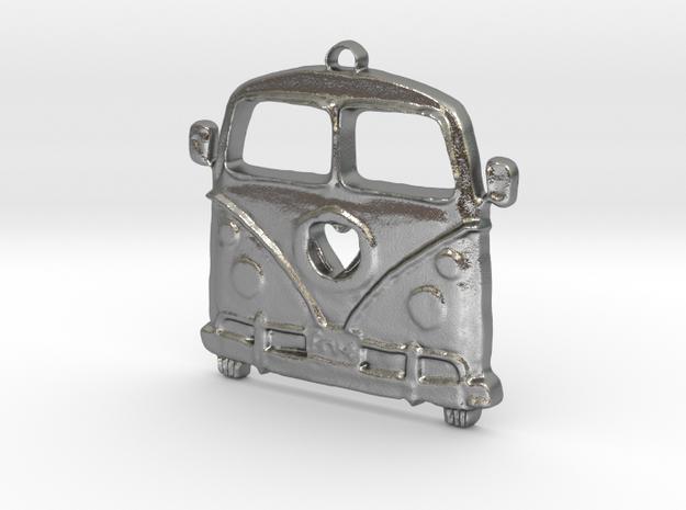 VeeDub love in Natural Silver