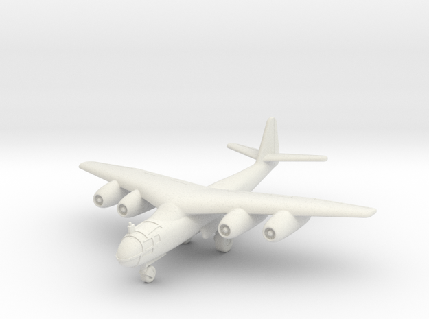 (1:144) Arado Ar 234 mit Pfeilflügel (Wheels down) in White Natural Versatile Plastic