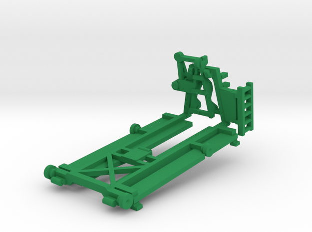 M15 BRIDGE ADAPTER PALLET (BAP) in Green Processed Versatile Plastic: 1:87 - HO