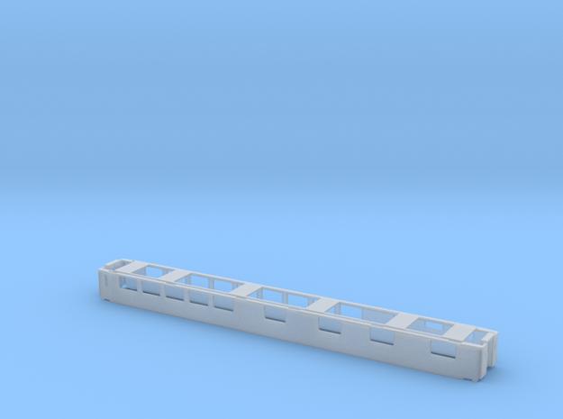 Speisewagen FS CIS-Alpino AG  FS/SBB Scale TT in Smooth Fine Detail Plastic