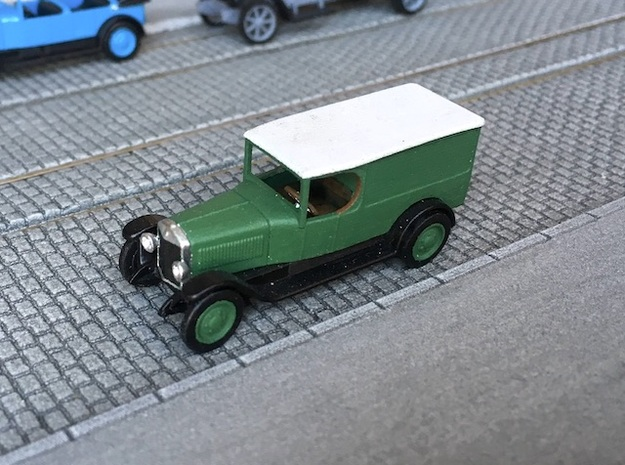 Unic L van 1922 - Ho 1:87 in Smooth Fine Detail Plastic