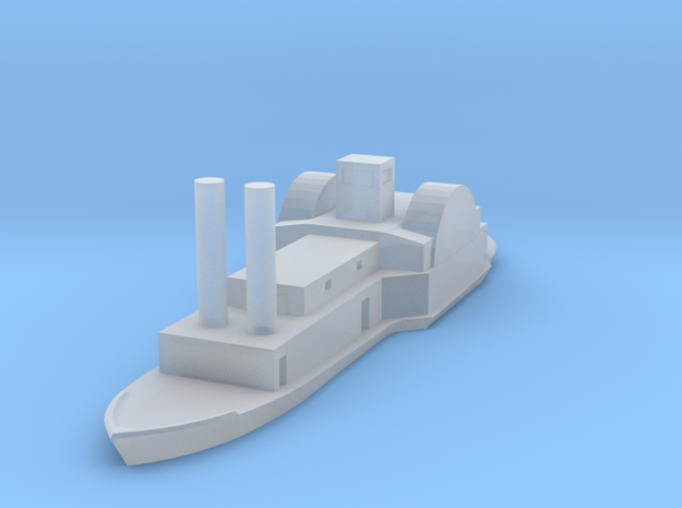 1/1000 USS/CSS General Sterling Price in Smooth Fine Detail Plastic