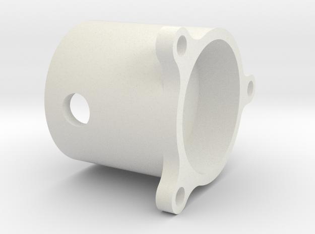 03.02.03.07 Sensor Cover in White Natural Versatile Plastic