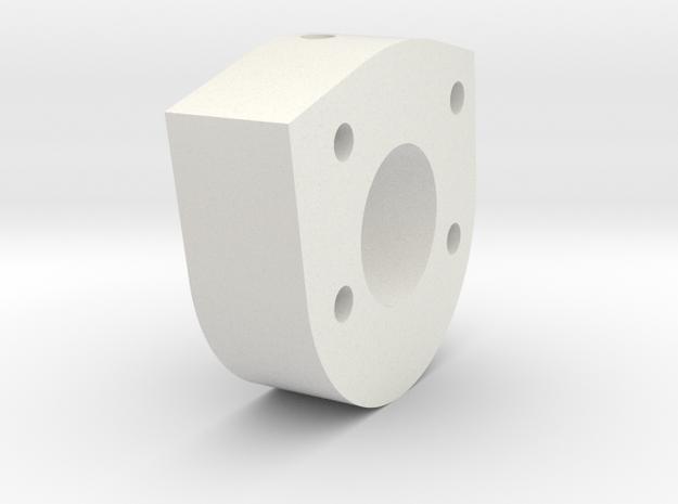 05.03.01.01.03 Port Mid Spacer in White Natural Versatile Plastic
