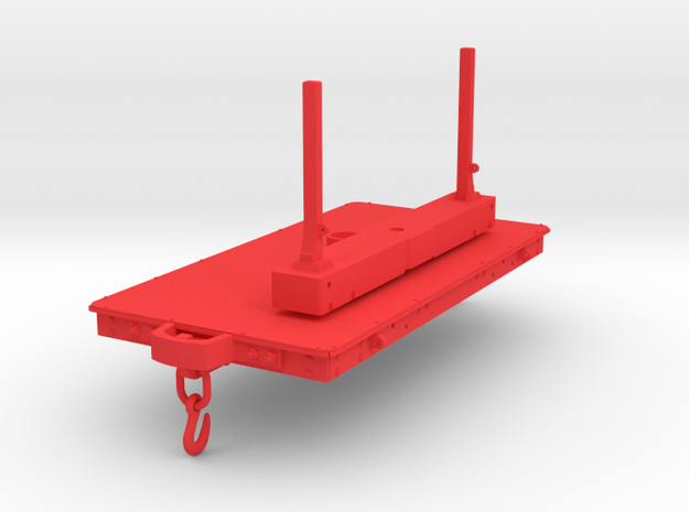 FRC08 Festiniog Railway Iron Bolster (SM32) in Red Processed Versatile Plastic