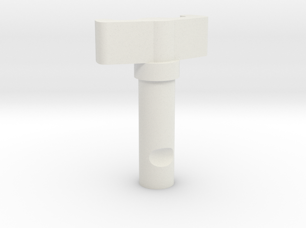 08.02.07.03.02 De-Icing Valve Shaft in White Natural Versatile Plastic