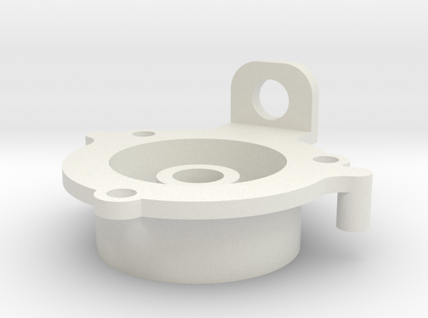08.02.07.03.04 Spacer (1) in White Natural Versatile Plastic