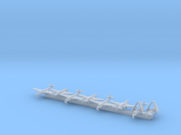 Hawker Sea Hawk w/Gear x8 (FUD) in Smooth Fine Detail Plastic: 1:700