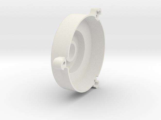08.01.01.03.02 Elev Trim Mec Cover in White Natural Versatile Plastic
