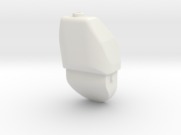 08.03.01.03.12 Wiring Box in White Natural Versatile Plastic