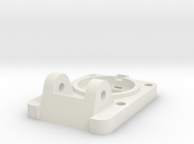 08.04.35.01.03 Base Plate (1) in White Natural Versatile Plastic