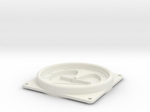 08.04.12.02 AH Body Rev1 in White Natural Versatile Plastic