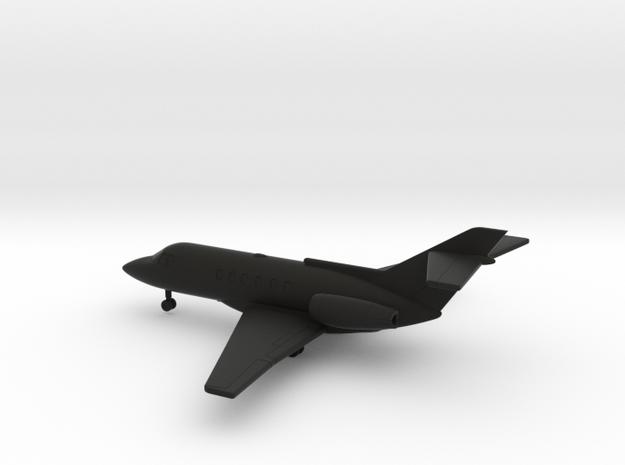 Hawker 800 (BAe 125-800) in Black Natural Versatile Plastic: 1:200