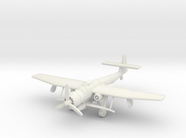 (1:144) Blohm und Voss BV P.204 w/ BV 246 in White Natural Versatile Plastic