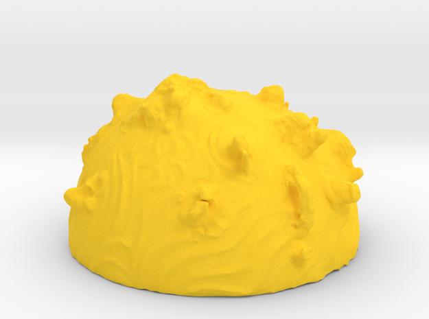 ! - Desert Planet - Concept B  in Yellow Processed Versatile Plastic