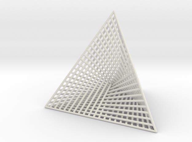 Small Ribbed Hemicube Tetrahedron