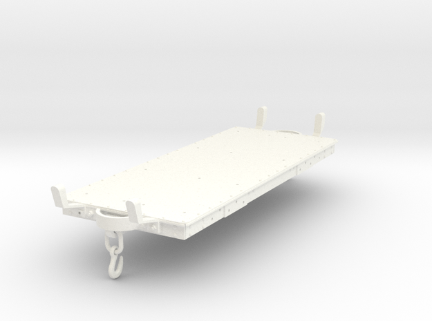 FRC10x Underframe from FRC10 Maenofferen Tank SM32 in White Processed Versatile Plastic