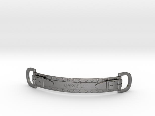 Choker Strap in Polished Nickel Steel