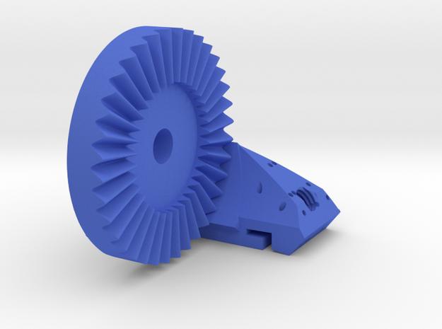 LED lamp camera hot shoe mount part 1/2 in Blue Processed Versatile Plastic