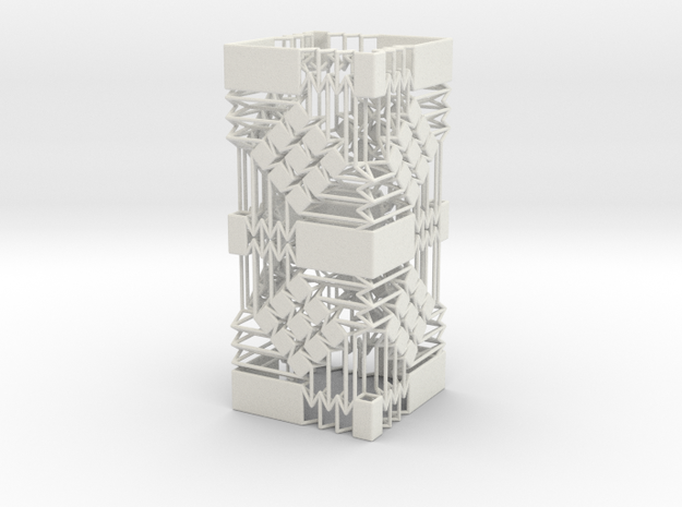 Square Wire Tube With Tessellation Tower