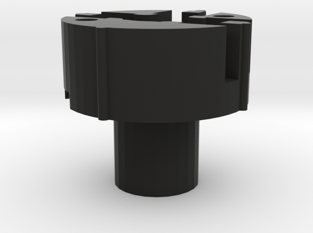 HATSWITCH_BASE_3WAY in Black Natural Versatile Plastic
