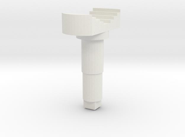 STEM_2WAY_ROCKER_2_BOAT in White Natural Versatile Plastic