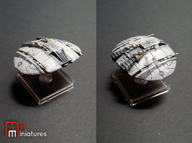 Old Cylon Raider 1/270