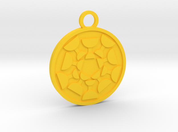 Ten of Cups in Yellow Processed Versatile Plastic