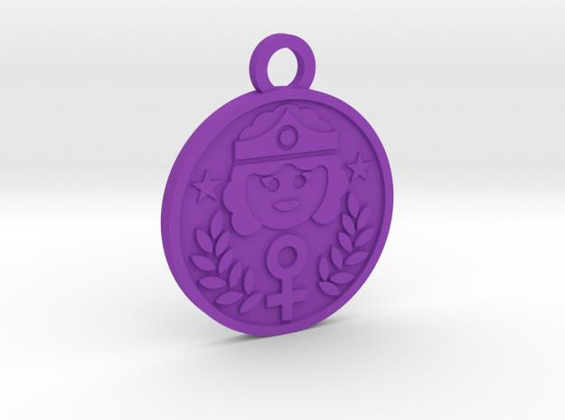 The Empress in Purple Processed Versatile Plastic
