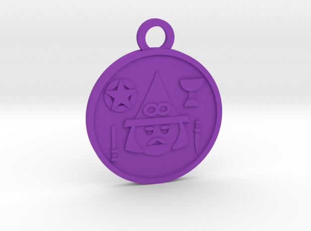 The Magician in Purple Processed Versatile Plastic