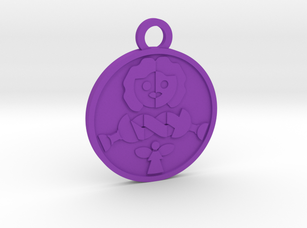 Temperance in Purple Processed Versatile Plastic